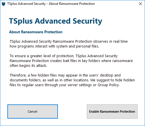 Ransomware Protection 2