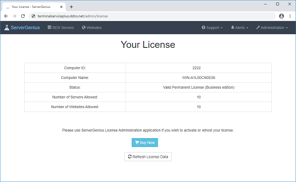 License Screenshot 4